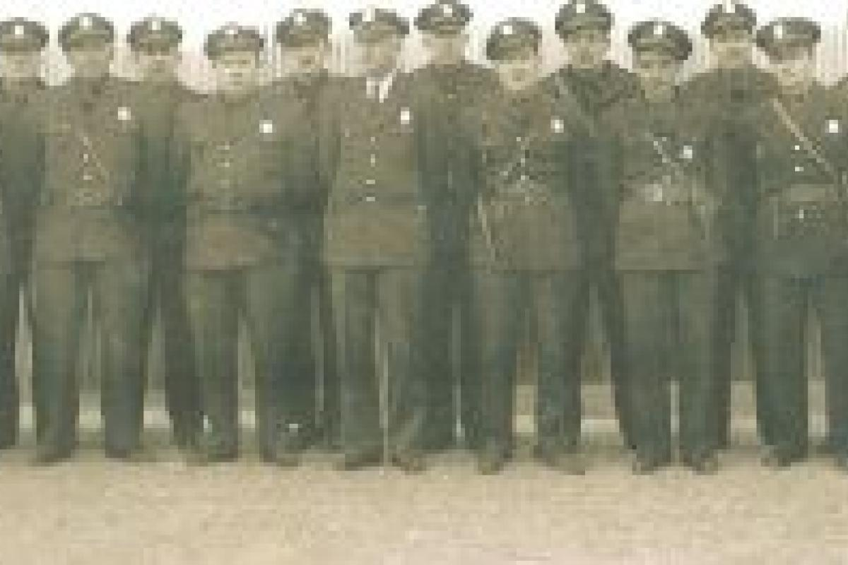 1948 Police Department Officers