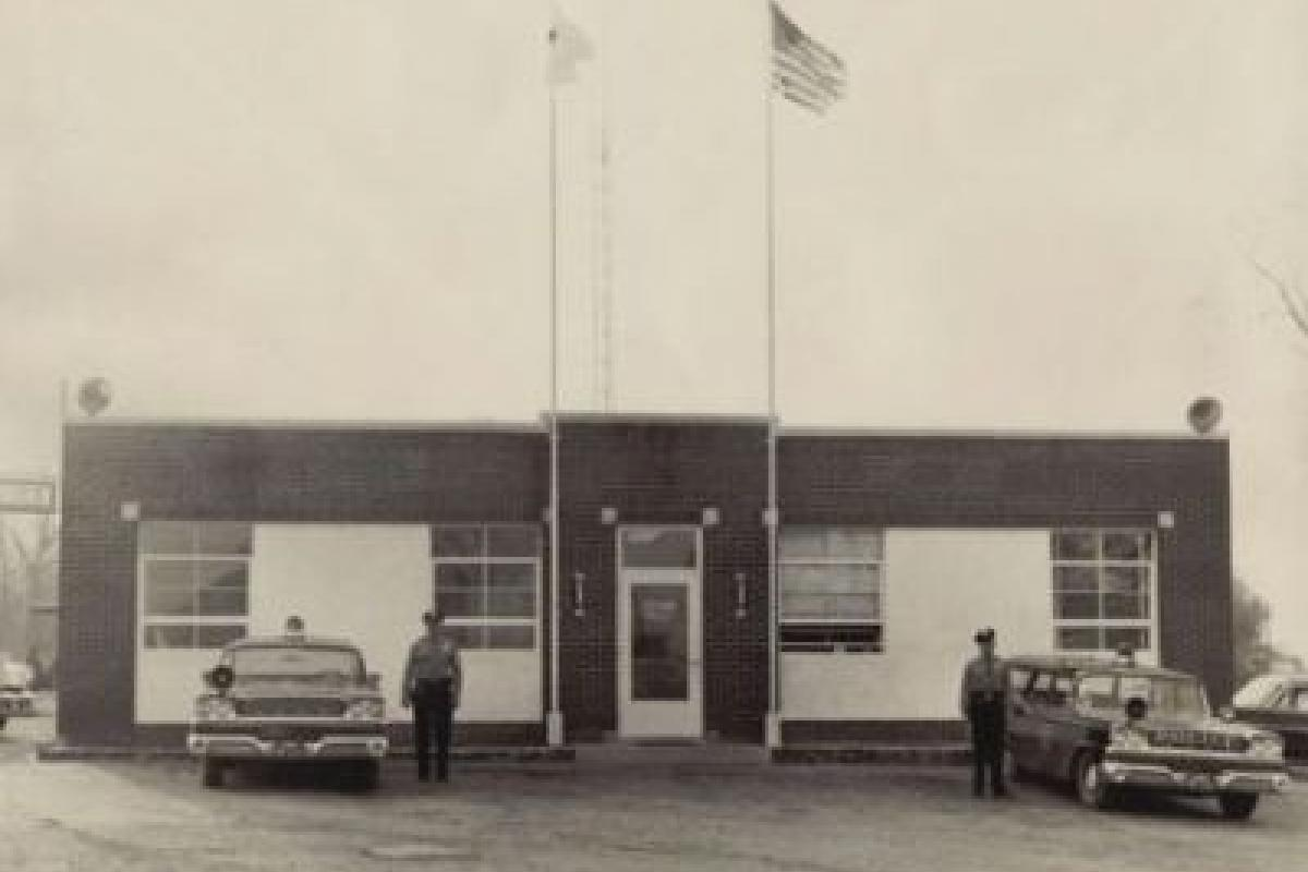 Old SPD at the current DPW 1960